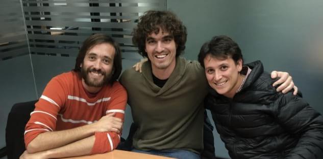 Federico Toledo, Matias Reina y Fabian Baptista son los fundadores de Abstracta Inc.