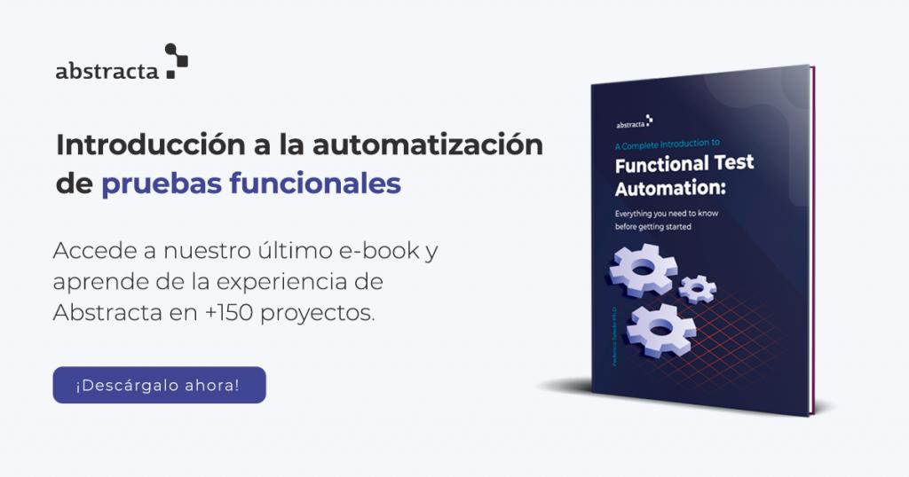 E-book con una completa introducción a la automatización de pruebas funcionales