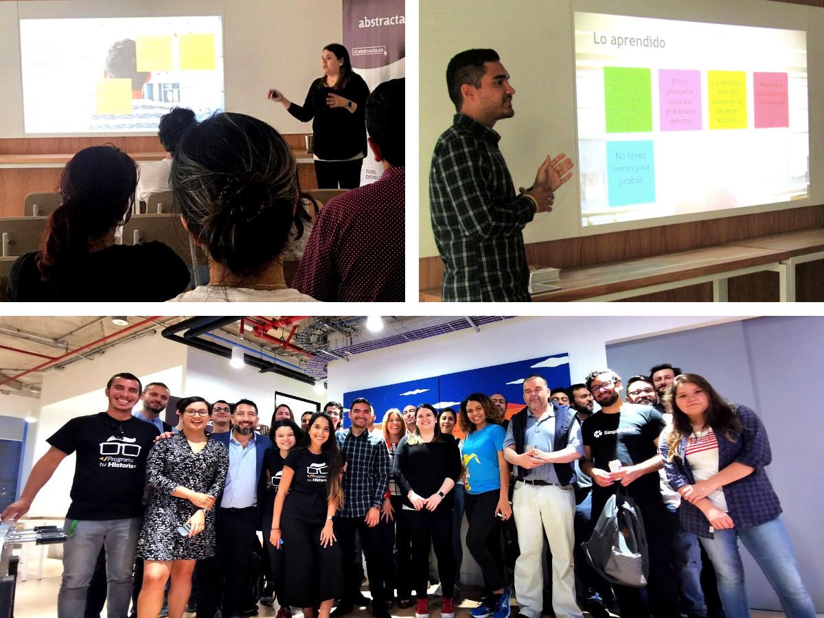 Meetup Testing Exploratorio en un entorno Ágil, con Pia Tobar y Jorge Galarraga - Abstracta Chile