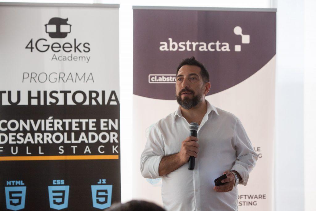 Mauricio Rojas Lagos, CEO de Abstracta Chile, compañía de testing ágil de software