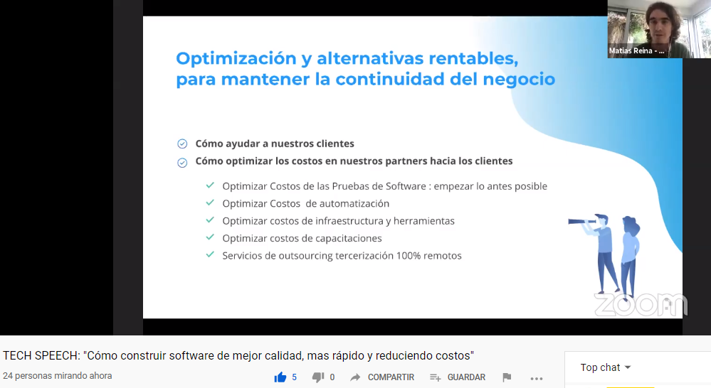 Optimización y alternativas rentables para mantener la continuidad del negocio