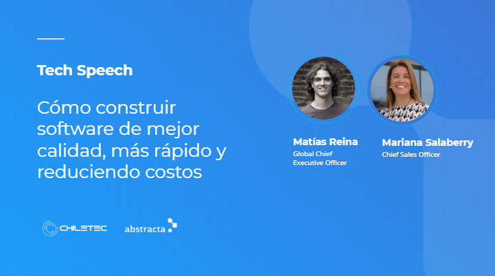 Abstracta fue invitada a participar al Tech Speech Chiletec 2020