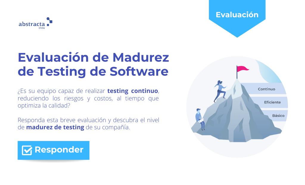 Evaluación interactiva de madurez de testing de software de Abstracta