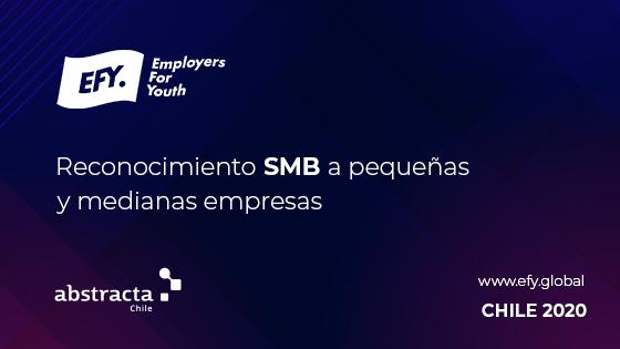 Abstracta Chile recibe reconocomiento SMB como una de las mejores empresas para Jóvenes Profesionales en 2020, por Employers for Youth de FirstJob
