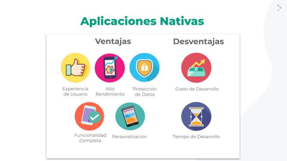 Ventajas y desventajas de las aplicaciones nativas