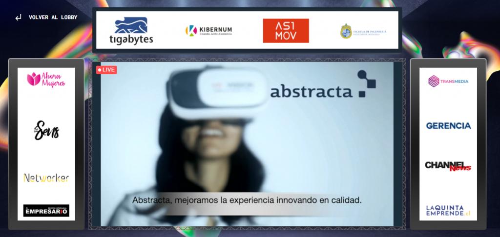 Abstracta Chile presente en Digital Roads 2021