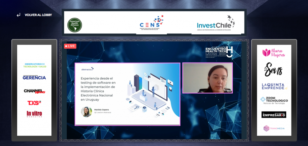 Experiencia desde el testing de software en la implementación de Historia Clínica Electrónica Nacional (HCEN) en Uruguay