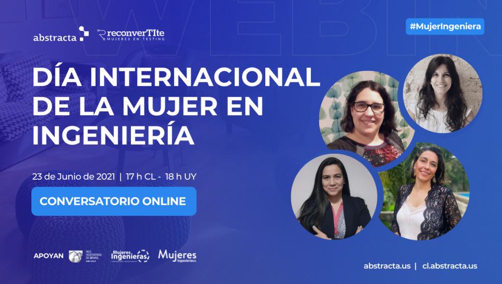 Conversatorio Online: Día Internacional de la Mujer en Ingeniería - INWED 2021