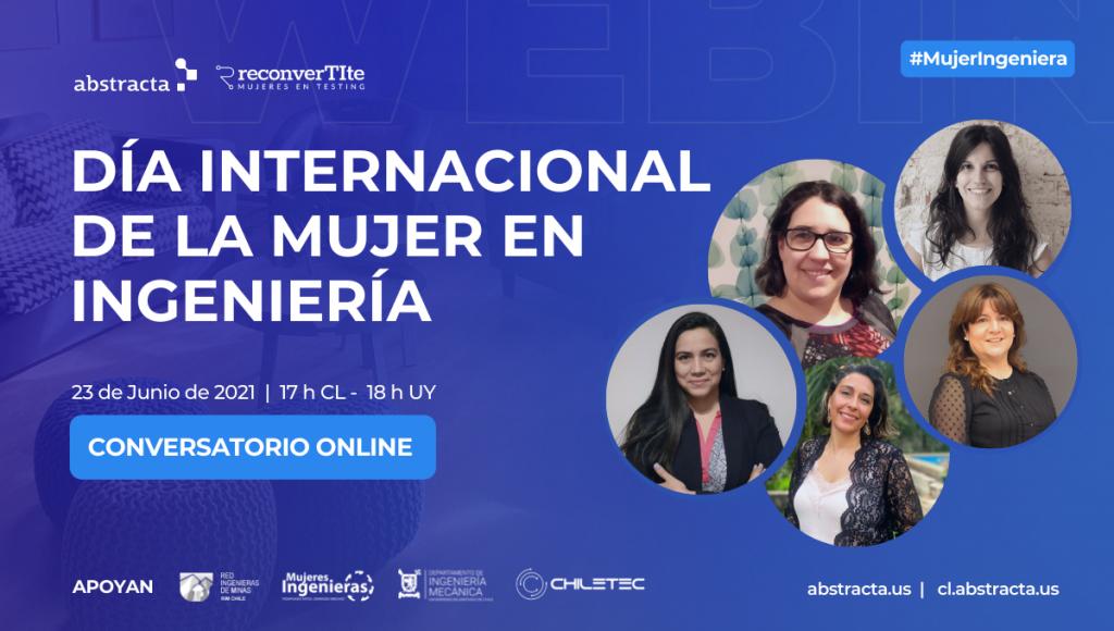 Conversatorio: Día Internacional de la Mujer en Ingeniería - INWED 2021