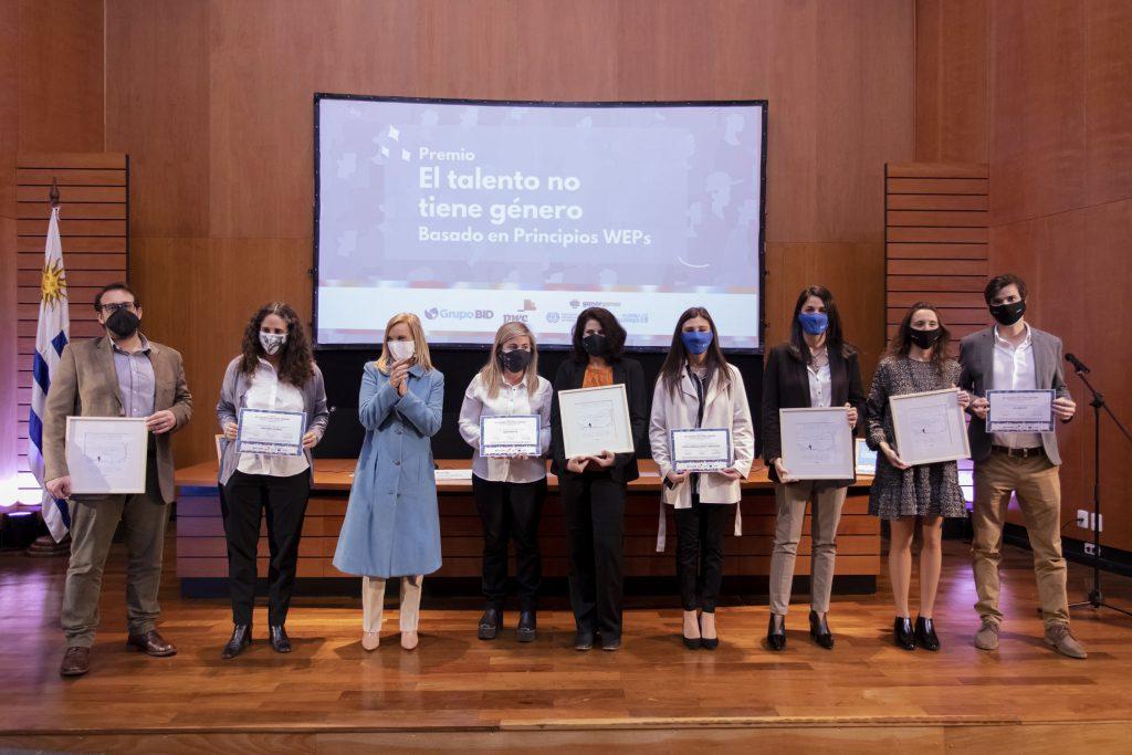 Empresas ganadoras del Premio El Talento no tiene Género 2021