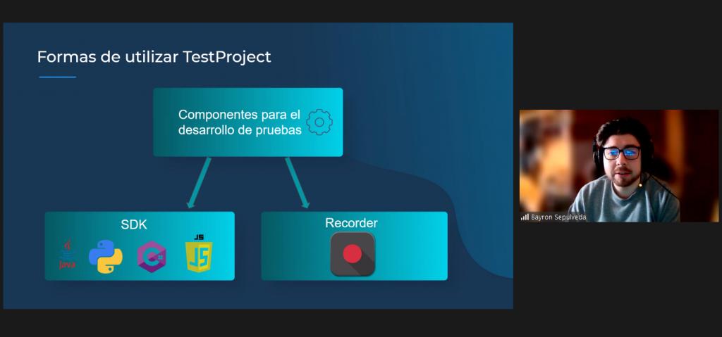 Usos comunes de TestProject