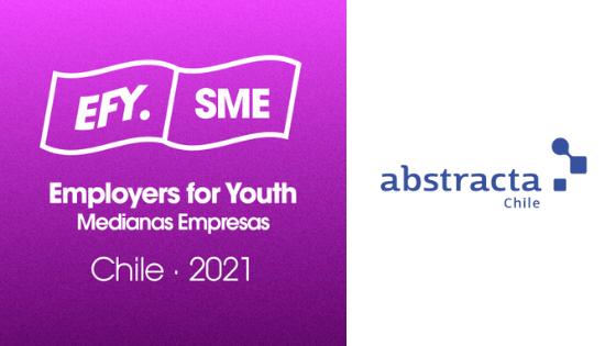 Abstracta Chile incluida por segundo año consecutivo en el Ranking Público SME de Employers for Youth 2021